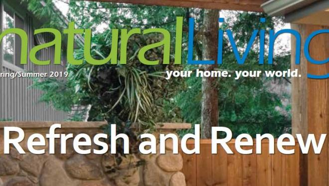 Cover of Natural Living magazine