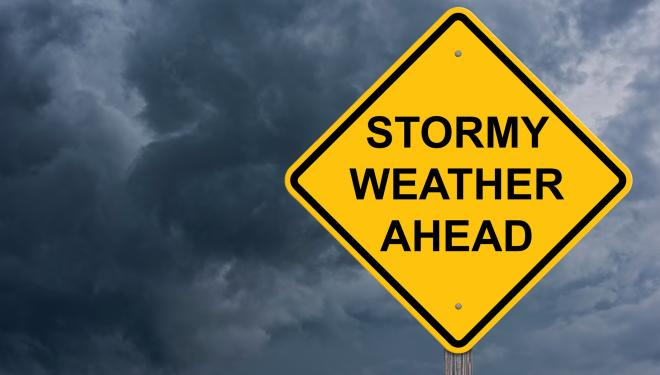 Storm Weather Sign